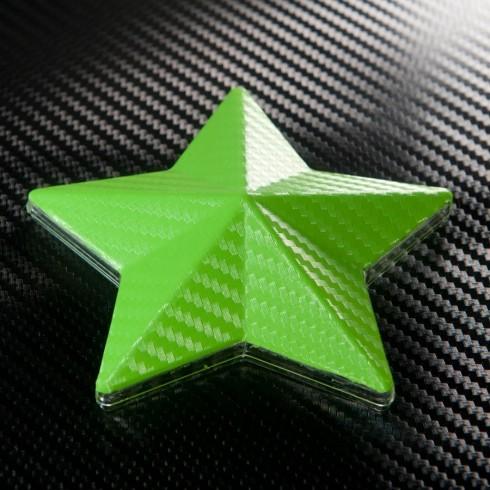 3D Карбоново Фолио TR1 - Светло Зелено +UV