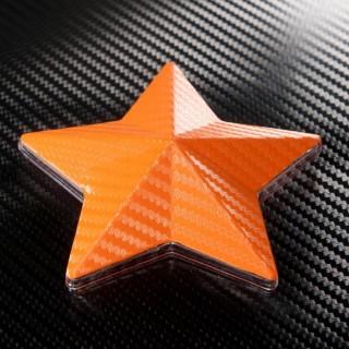 3D Карбоново Фолио TR1 - Оранжево +UV
