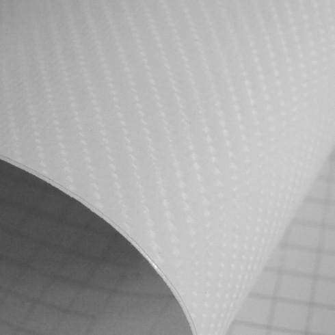 4D Карбоново Фолио - Бяло