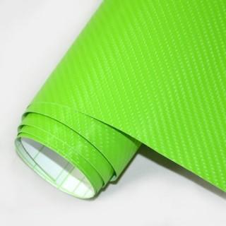 4D Карбоново Фолио - Зелено