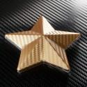 3D Карбоново Фолио TR1 - Златисто +UV