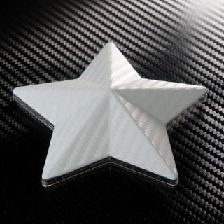 3D Карбоново Фолио TR1 - Бяло +UV