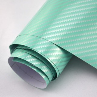 2D Зелено Карбоново фолио - 1.27м
