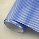 2D Синьо Карбоново фолио - 1.27м