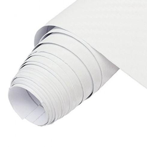 Sticker City 3D Carbon White - 1.52m