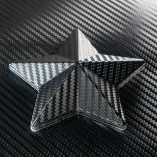 3D Карбоново Фолио TR1 - Черно + UV 1.27м