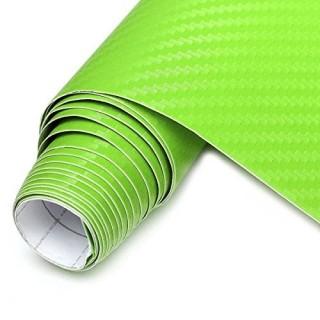 Sticker City 3D Carbon Green - 1.52m