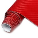 Sticker City 3D Carbon Red - 1.52m