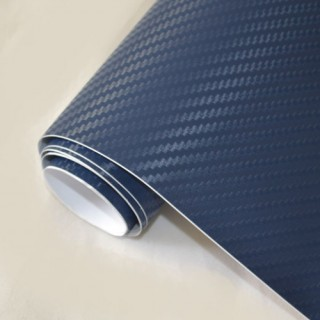3D Карбоново Фолио TR1 - Тъмно Синьо +UV 1.27м