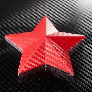 3D Карбоново Фолио TR1 - Червено +UV
