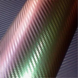 3D Карбоново Фолио TR1 - Хамелеоново Зелено +UV 1.52м