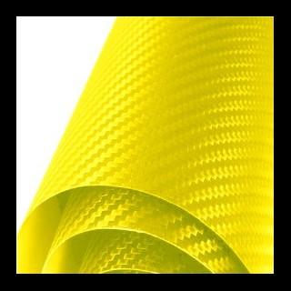 Sticker City 3D Carbon Yellow - 1.27м